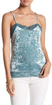 Romeo & Juliet Couture Crushed Velvet Cami