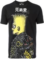 Dom Rebel punk print T-shirt