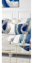 Abstract Macro of Agate Stone Lumbar Pillow East Urban Home