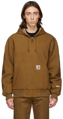 Wacko Maria Brown Carhartt WIP Edition Active Jacket