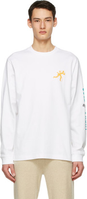 Acne Studios White Dizonord Edition Cold Front Long Sleeve T-Shirt