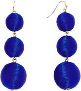 BaubleBar 30219 Fluoro Crispin Drops-Cobalt Blue