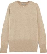 Vince Cutout Cashmere Sweater - Beige