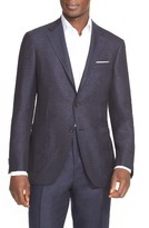 Canali Men's Classic Fit Wool Blazer