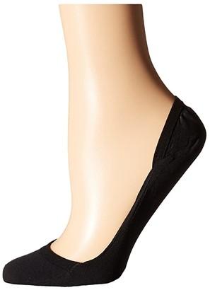 Falke Elegant Step Invisible Socks (Black) Women's Low Cut Socks Shoes