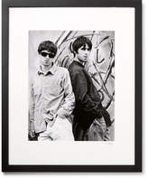 Sonic Editions Framed Oasis Brothers Print, 17 X 21 - Black