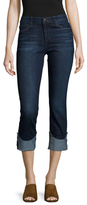 Joe's Jeans Denim Cuffed Crop Jean