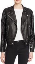 Iro . Jeans IRO.JEANS Totem Leather Moto Jacket