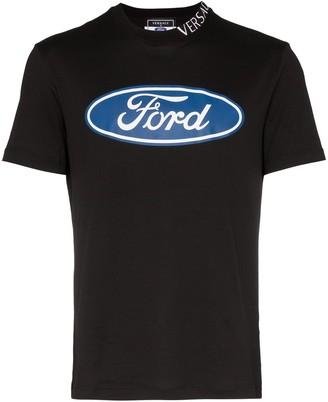 Versace x Ford logo print T-shirt
