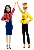 Barbie President and Vice President Dolls 2 Pack