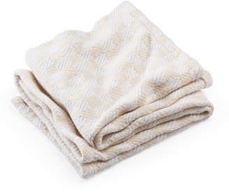 Brahms Mount Pogonia Check Baby Blanket