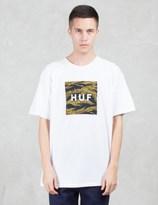 HUF Tiger Camo Box Logo S/S T-Shirt
