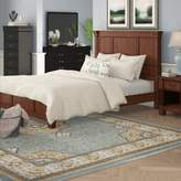 Darby Home Co Cargile Standard 2 Piece Bedroom Set Darby Home Co Bed Size: Queen, Color: Rustic Cherry