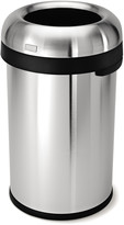 Simplehuman Bullet Brushed Steel Open Bin - 80L