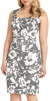 Studio 8 Tasha Dress, Black/Ivory
