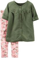 Carter's 2-pc. Top & Pants Playwear Set - Baby Girls newborn-24m