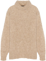Tibi Bubble knitted turtleneck sweater