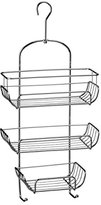 Camilla And Marc Premier Housewares 3-Tier Chrome Wire Shower Caddy (52 x 25 x 11 cm) - Silver