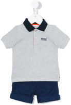 Boss Kids - polo shirt & bermudas set - kids - Cotton - 9 mth