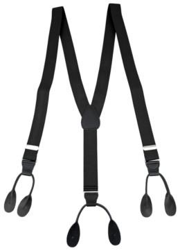 Status Men's Button-End Suspenders