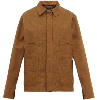 Haider Ackermann Cotton Work Jacket - Womens - Brown