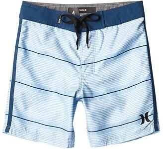 Hurley Shoreline Boardshorts (Little Kids) (Psychic Blue) Boy's Swimwear