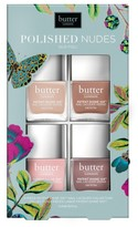 Butter London Polished Nudes Patent Shine 10X(TM) Nail Lacquer Set - Polished Nudes