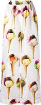 Dolce & Gabbana ice-cream print pyjama trousers - women - Silk - 44