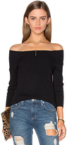 525 America 3/4 Sleeve Off Shoulder Sweater