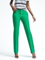 Banana Republic Logan-Fit Pink Lightweight Wool Trouser