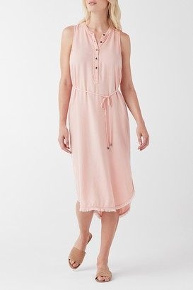 Splendid High/Low Midi Dress