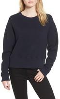 James Perse Women's Plush Terry Sweatshirt