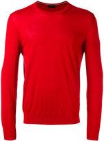 Z Zegna long sleeve sweater - men - Wool - M