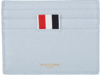 Thom Browne Blue Double Sided Card Holder