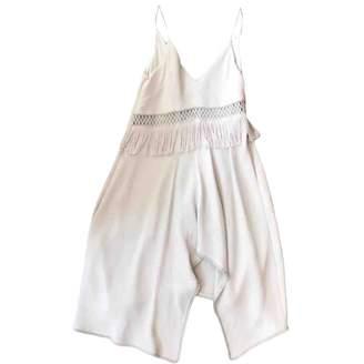 La Maison Talulah White Viscose Dresses