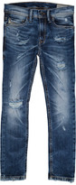Diesel Tepphar Washed Slim Jeans