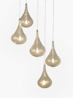 John Lewis & Partners Jensen 5 Pendant LED Cluster Ceiling Light