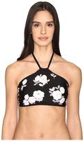 Kate Spade Posey Grove High Neck Bikini Top Women's Swimwear