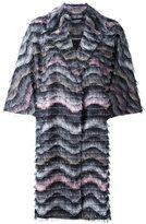 Diane von Furstenberg 'Floretta' coat - women - Polyester/Spandex/Elastane - M