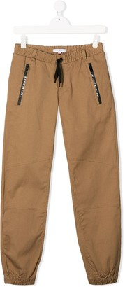 Givenchy Kids Drawstring Waist Trousers