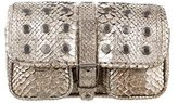 Belstaff Metallic Python Shoulder Bag