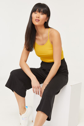 Ardene Basic Ribbed Crop Tank Top