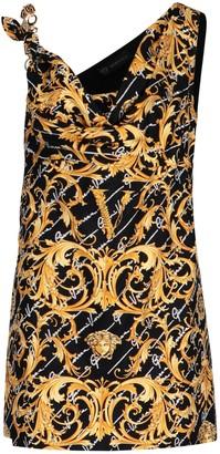 Versace Barocco Signature Mini Dress