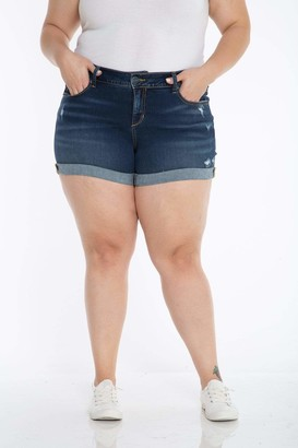 SLINK Jeans The Short in Ada Size 18