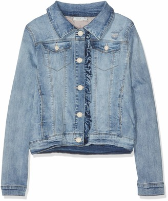 Name It Girls' NKFTEGANI DNM 1158 Jacket NOOS