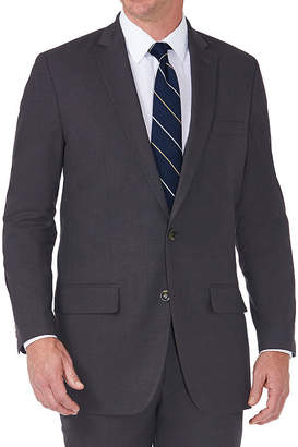 Haggar JM Suit Coat Stretch Tailored Fit Suit Jacket