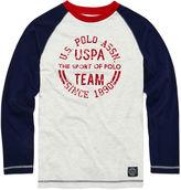 USPA U.S. Polo Assn. Long-Sleeve Graphic Raglan Tee - Boys 8-20