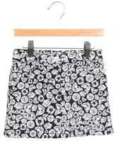 Kenzo Girls' Printed Denim Skirt w/ Tags