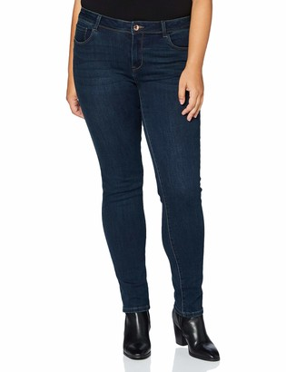 Morgan Women's Jeans Slim Taille Standard A Poches Pom Casual Pants
