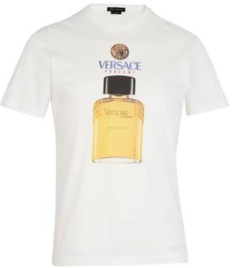 Versace Perfume print T-Shirt
